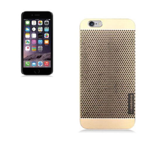 Markaawm Apple iPhone 6 Kılıf Metal Kapak Slim Hafif Motomo