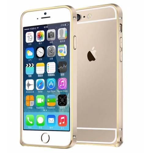 Markaawm Apple iPhone 6 Kılıf 4.7 Bumper Metal Çerçeve Hafif