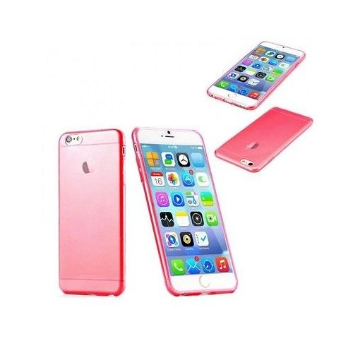 Markaawm Apple iPhone 6 Plus Kılıf 0.3Mm Transparan Silikon