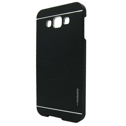 Markaawm Samsung Galaxy E7 Kılıf Motomo Metal Kapak