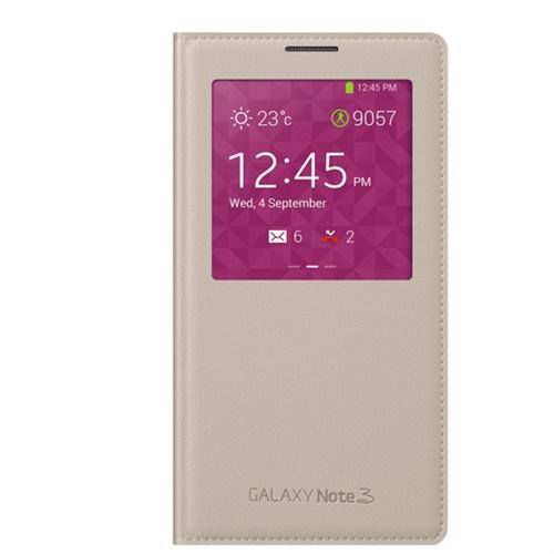 Markaawm Samsung Galaxy Note 3 Neo Kılıf S View Mode Çipli