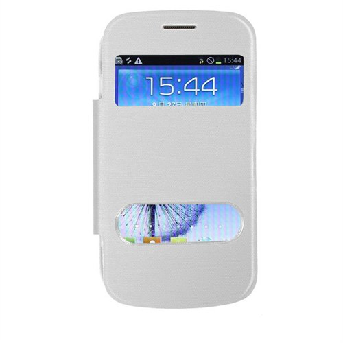Markaawm Samsung Galaxy S Duos 2 S7582 Kılıf Flip Cover