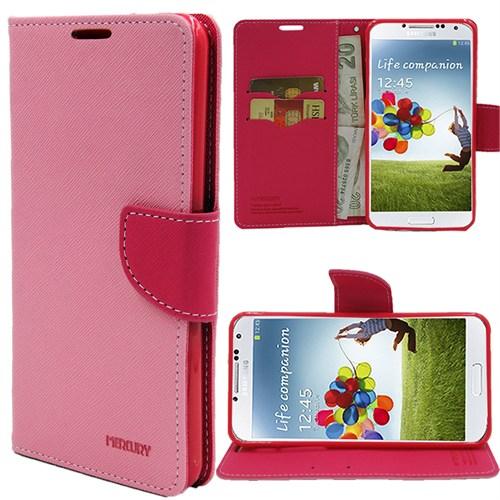 Markaawm Samsung Galaxy S4 Kılıf Mercury Cüzdanlı