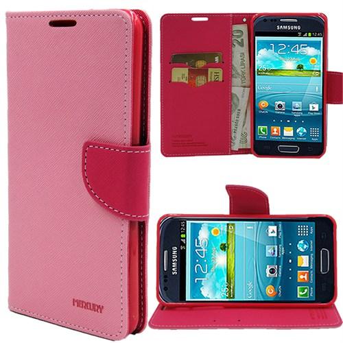 Markaawm Samsung Galaxy Trend S7560 Kılıf Duos S7562 Kılıf Cüzdanlımercury
