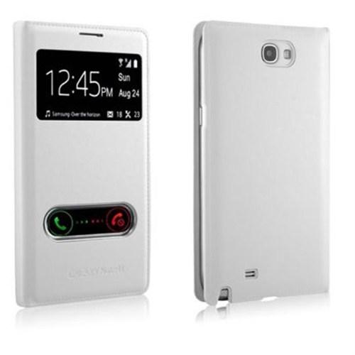 Markaawm Samsung Galaxy Note 2 Kılıf Flip Note 3 Tasarım