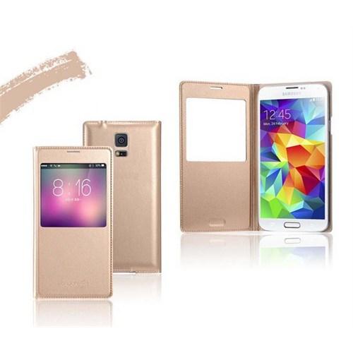 Markaawm Samsung Galaxy S5 Kılıf Uyku Modlu Çipli