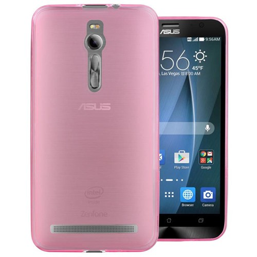 Markaawm Asus Zenfone 2 Kılıf 0.3 Mm Transparan Silikon