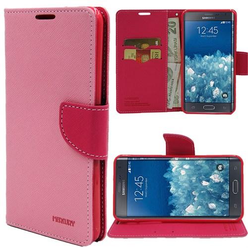 Markaawm Samsung Galaxy Note Edge Kılıf Mercury Cüzdanlı Standlı