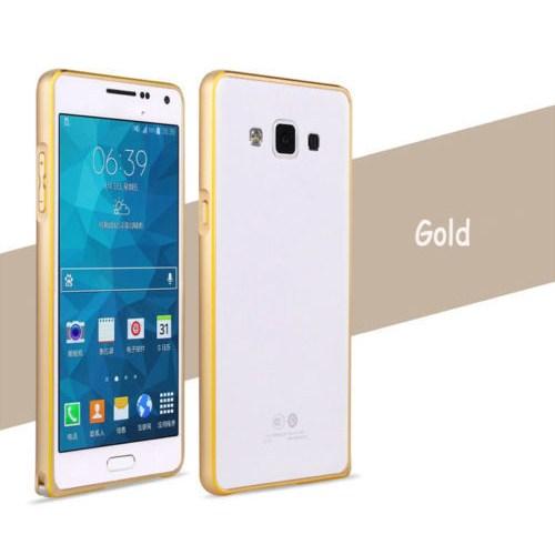 Markaawm Samsung Galaxy A3 Kılıf Metal Galaxy A3 Bumper