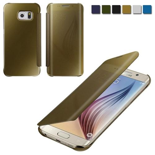 Markaawm Samsung Galaxy S6 Kılıf Claer View Aynalı