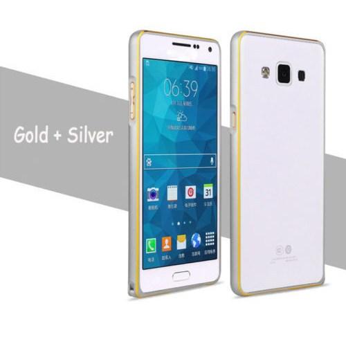 Markaawm Samsung Galaxy A7 Kılıf Metal Bumper Çerçeve