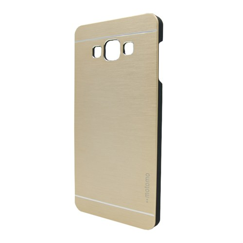 Markaawm Samsung Galaxy A7 Kılıf Motomo Metal Kapak
