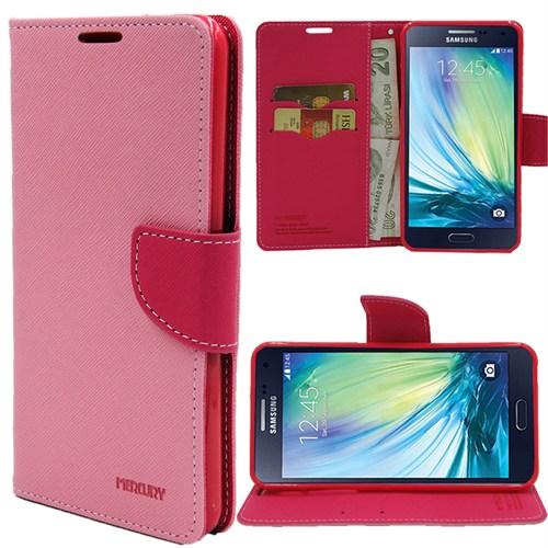 Markaawm Samsung Galaxy A5 Kılıf Cüzdanlı Mercury Standlı