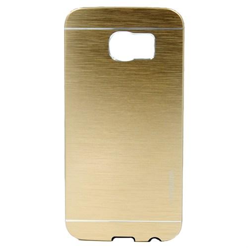Markaawm Samsung Galaxy S6 Kılıf Motomo Metal Kapak
