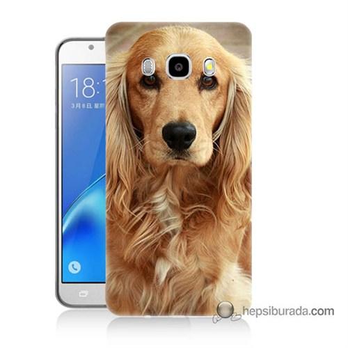 Teknomeg Samsung J7 2016 Kapak Kılıf Köpek Baskılı Silikon