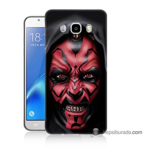 Teknomeg Samsung J7 2016 Kılıf Kapak Starwars Güç Uyanıyor Baskılı Silikon