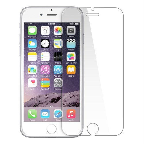 Cayka Apple iPhone 6/6S Glassnextg Body White Cam Ekran Koruyucu