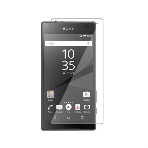 Cayka Lite Sony Xperia Z5 Compact Cam Ekran Koruyucu