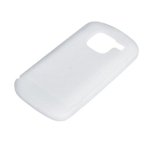 Nokia E5 Silikon Kılıf CC 1007 Beyaz