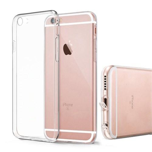 Melefoni Apple İphone 6 6S Plus Kılıf Kamera Koruyuculu Cam Ekran Koruyucu Hediyeli