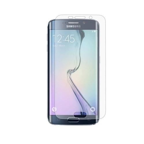Melefoni Samsung Galaxy S7 Edge Ekran Koruyucu Kavisli Silikon Kılıf Hediyeli