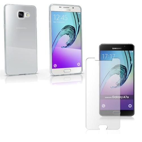 Melefoni A7 2016 Samsung Galaxy Kılıf Melefoni Silikon Şeffaf