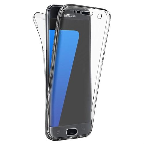 Microsonic Samsung Galaxy S7 Kılıf 6 Tarafı Tam Full Koruma 360 Clear Soft Şeffaf