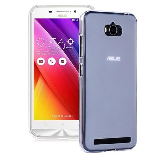 Microsonic Asus Zenfone Max 5.5 Kılıf Transparent Soft Beyaz