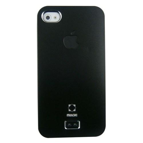 Teleplus İphone 4S Siyah Rubber Kılıf