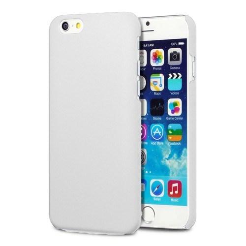 Teleplus İphone 6 Plus Tam Korumalı Silikon Kılıf Beyaz