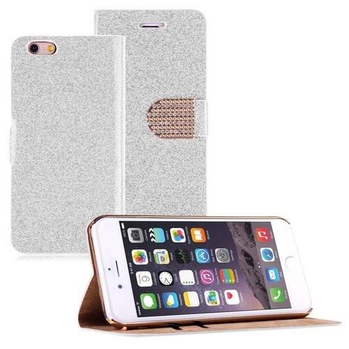 Teleplus İphone 6S Taşlı Kılıf Beyaz