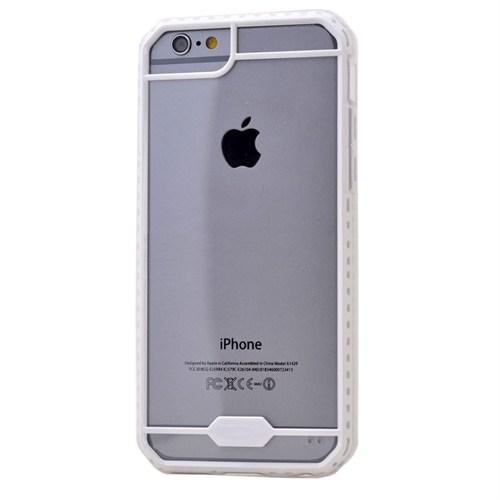 Teleplus İphone 6S Desenli Silikon Kılıf Beyaz