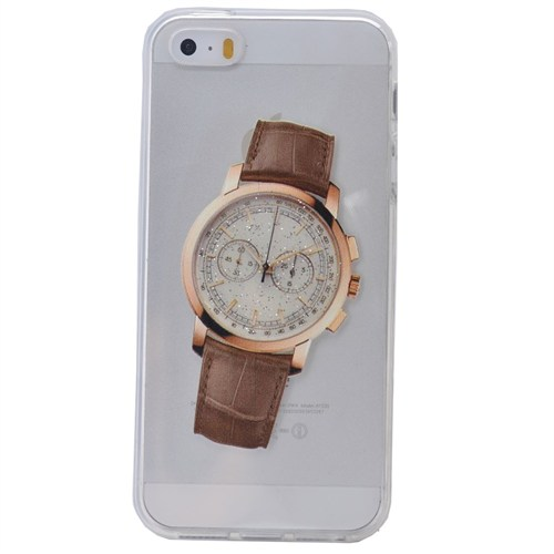 Teleplus İphone 6S Plus Saat Desenli Silikon Kılıf 2