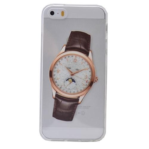 Teleplus İphone 6S Plus Saat Desenli Silikon Kılıf 9