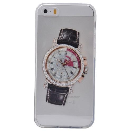 Teleplus İphone 6S Plus Saat Desenli Silikon Kılıf 11
