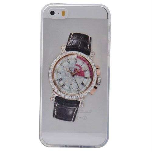 Teleplus İphone 6 Saat Desenli Silikon Kılıf 11