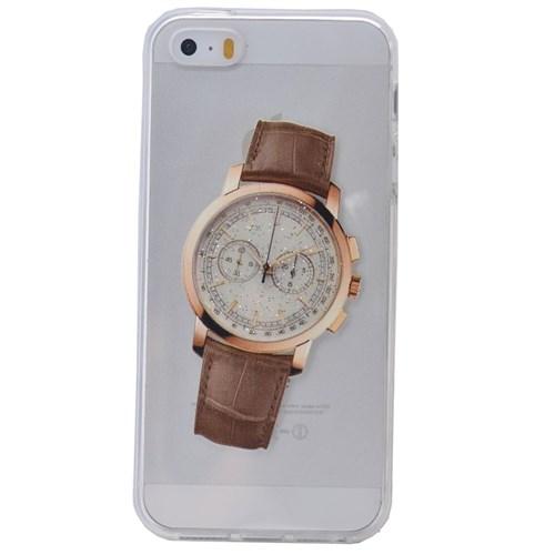 Teleplus İphone 6S Saat Desenli Silikon Kılıf 2