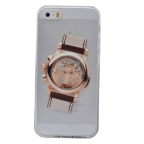 Teleplus İphone 6S Saat Desenli Silikon Kılıf 3