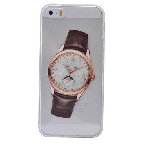 Teleplus İphone 6S Saat Desenli Silikon Kılıf 9