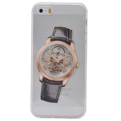 Teleplus İphone 6S Saat Desenli Silikon Kılıf 10