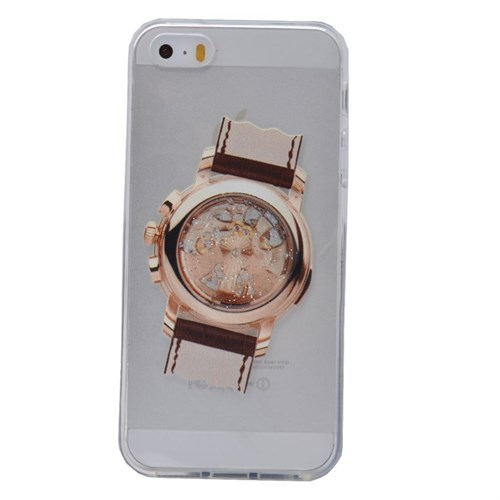Teleplus İphone 6 Plus Saat Desenli Silikon Kılıf 3