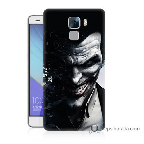 Teknomeg Huawei Honor 7 Kılıf Kapak Joker Baskılı Silikon