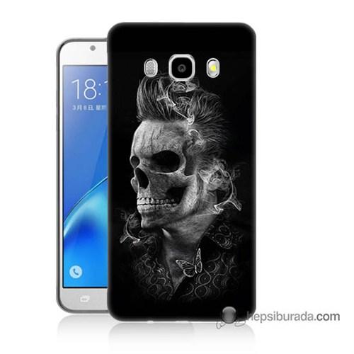 Teknomeg Samsung J5 2016 Kapak Kılıf Elvis Presley Efsanesi Baskılı Silikon