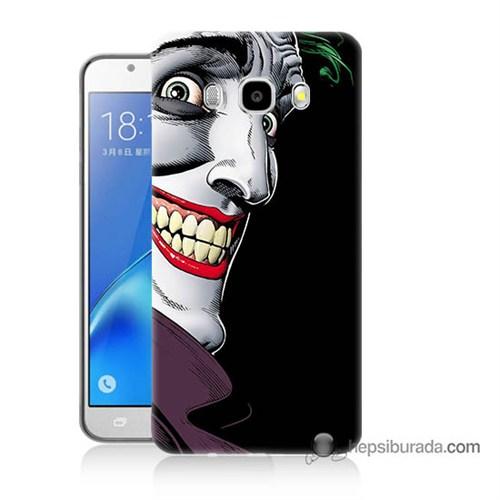 Teknomeg Samsung J5 2016 Kapak Kılıf Joker Baskılı Silikon