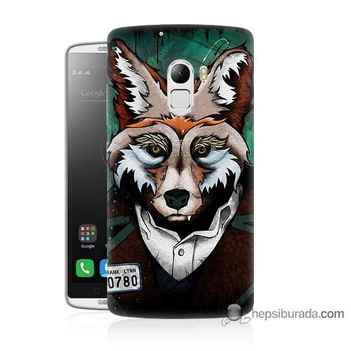 Teknomeg Lenovo A7010 Kılıf Kapak Bad Wolf Baskılı Silikon