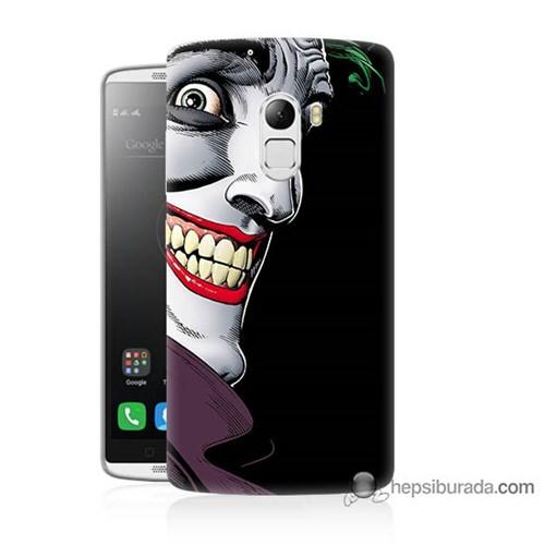 Teknomeg Lenovo A7010 Kapak Kılıf Joker Baskılı Silikon