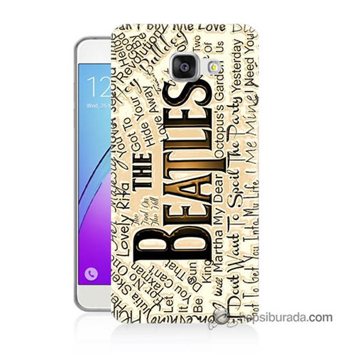 Teknomeg Samsung Galaxy A3 2016 Kılıf Kapak The Beatles Baskılı Silikon