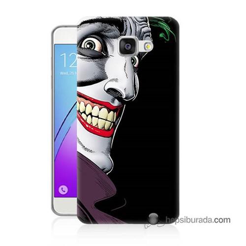 Teknomeg Samsung Galaxy A3 2016 Kapak Kılıf Joker Baskılı Silikon