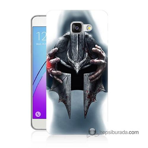 Teknomeg Samsung Galaxy A3 2016 Kılıf Kapak Assassins Creed Baskılı Silikon