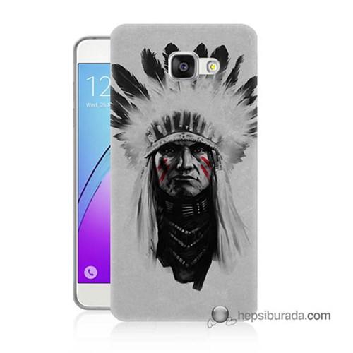 Teknomeg Samsung Galaxy A3 2016 Kılıf Kapak Geronimo Baskılı Silikon